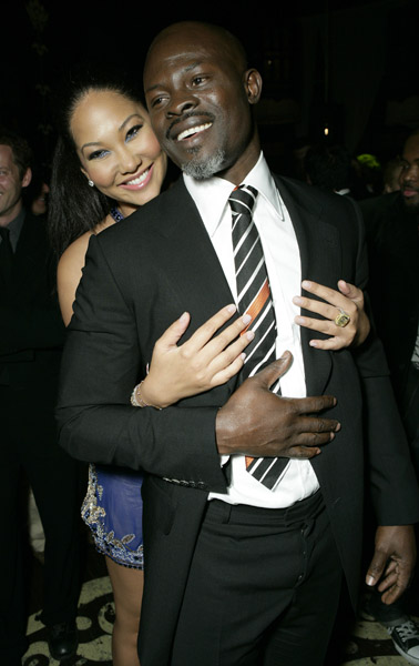 djimon hounsou and kimora lee simmons. Kimora Lee Simmons announced