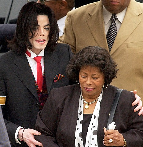 michaeljacksonandmother